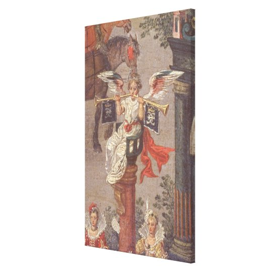 The Triumph of Isabella Canvas Print
