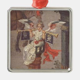 The Triumph of Isabella Metal Ornament