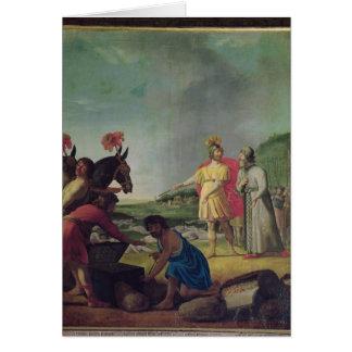 The Triumph of Judas Maccabeus Card