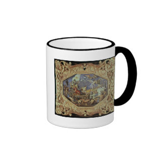 The Triumph of Louis XIII  over Enemies Ringer Coffee Mug
