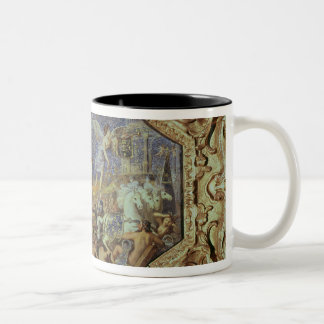 The Triumph of Louis XIII  over Enemies Two-Tone Coffee Mug