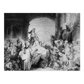 The Triumph of Mordecai, c.1640 Postcard