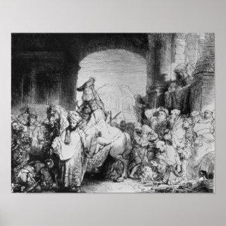 The Triumph of Mordecai, c.1640 Print