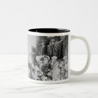 The Triumph of Mordecai, c.1640 Two-Tone Coffee Mug