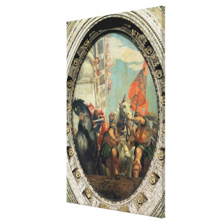 The Triumph of Mordecai Stretched Canvas Prints