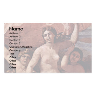 The Triumph Of Neptune The Baccanale Richelieu Business Card Templates