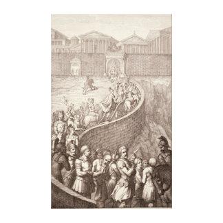 The Triumph of Quintus Fabius Stretched Canvas Print