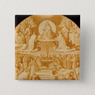The Triumph of Religion in the Arts, before 1840 Button