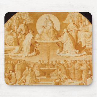 The Triumph of Religion in the Arts, before 1840 Mouse Pad