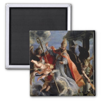 The Triumph of St. Augustine  1664 Magnet