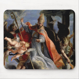 The Triumph of St. Augustine  1664 Mouse Pad