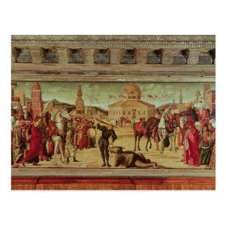 The Triumph of St. George, 1501-7 Postcard
