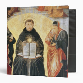 The Triumph of St. Thomas Aquinas Binder
