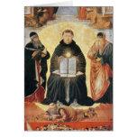 The Triumph of St. Thomas Aquinas Card