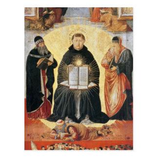 The Triumph of St. Thomas Aquinas Postcard