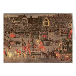 The Triumph of the Archduchess Isabella (1556-1633 Card