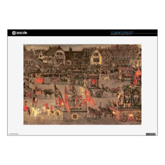 """The Triumph of the Archduchess Isabella (1556-1633 Decal For 15"""" Laptop"""