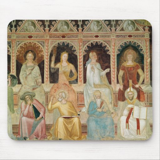 The Triumph of the Catholic Doctrine Mousepads