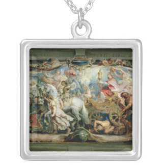 The Triumph of the Church Silver Plated Necklace