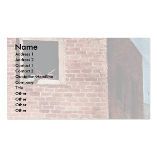 The Triumph Of The Members 'Details' By Hogarth Double-Sided Standard Business Cards (Pack Of 100)