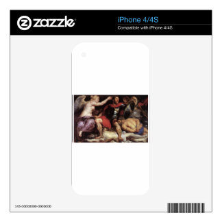 The Triumph of the Victory by Peter Paul Rubens iPhone 4 Decals