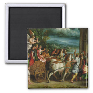 The Triumph of Titus and Vespasian, c.1537 2 Inch Square Magnet