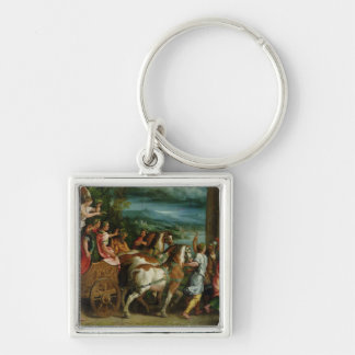 The Triumph of Titus and Vespasian, c.1537 Keychain