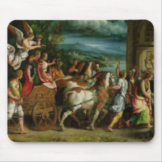 The Triumph of Titus and Vespasian, c.1537 Mouse Pad