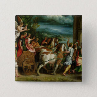The Triumph of Titus and Vespasian, c.1537 Pinback Button