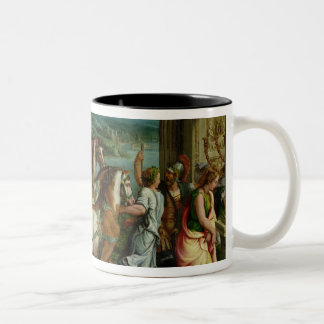 The Triumph of Titus and Vespasian, c.1537 Two-Tone Coffee Mug