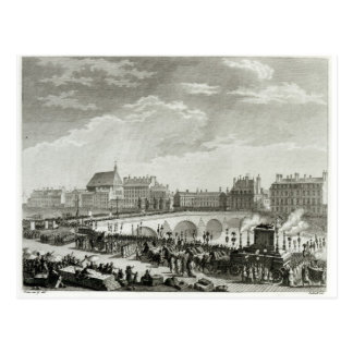The Triumph of Voltaire Postcard