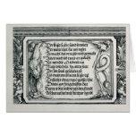 The Triumphal Arch Card