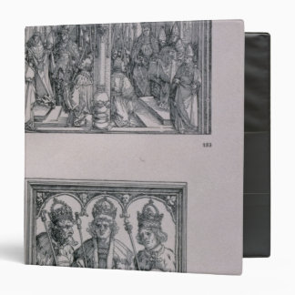 The Triumphal Arch of Emperor Maximilian I 3 Ring Binder