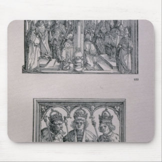 The Triumphal Arch of Emperor Maximilian I Mouse Pad