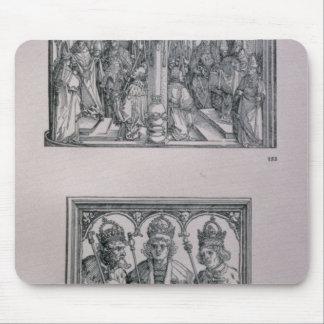 The Triumphal Arch of Emperor Maximilian I Mouse Pad