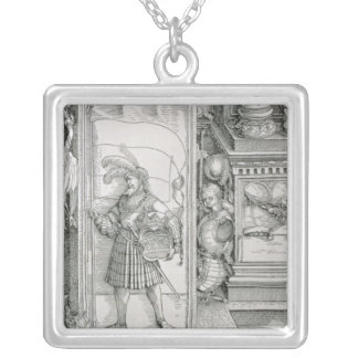 The Triumphal Arch Silver Plated Necklace