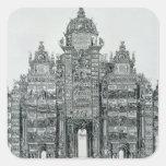 The Triumphal Arch Square Sticker