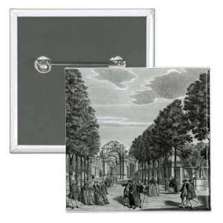 The Triumphal Arches, Handel's Statue in the South Pinback Button