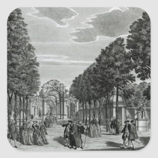 The Triumphal Arches, Handel's Statue in the South Square Stickers
