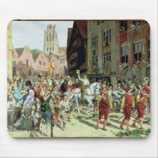 The Triumphal Arrival in Rotterdam Mouse Pad