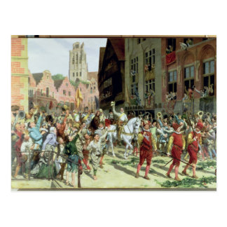The Triumphal Arrival in Rotterdam Postcard
