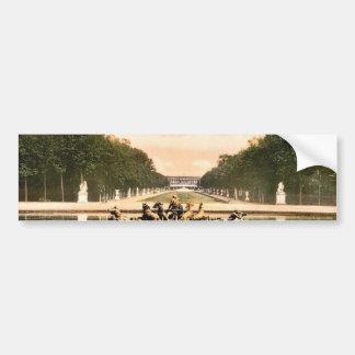 The triumphal car Versailles France classic Phot Bumper Sticker