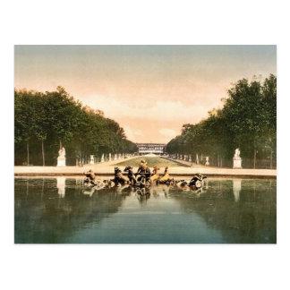 The triumphal car, Versailles, France classic Phot Postcard