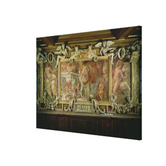 The Triumphal Elephant, an allegorical tribute to Canvas Prints
