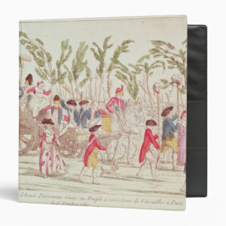 The Triumphant Parisian Army Returning Vinyl Binder