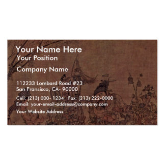 The Trivia-Peddlers By Li Sung Business Card Template