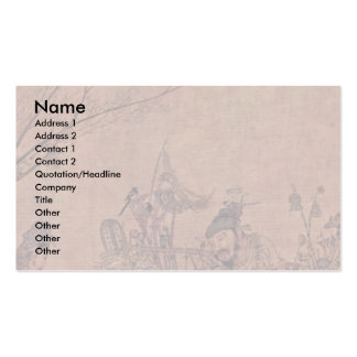 The Trivia-Peddlers By Li Sung Business Card Templates