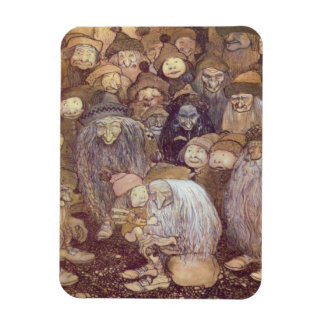 The Trolls and the Youngest Tomte Magnet