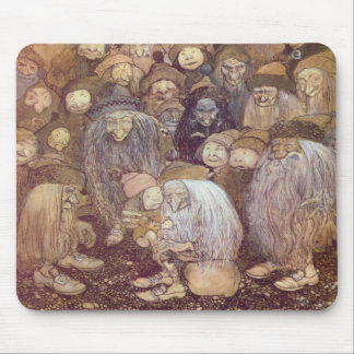 The Trolls and the Youngest Tomte Mouse Pad