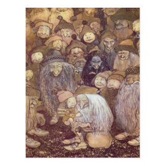 The Trolls and the Youngest Tomte Postcard